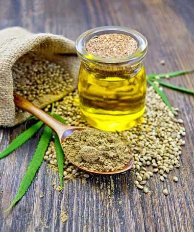 Aceite de marihuana con alto contenido en CBD