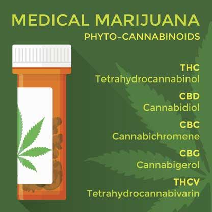 CBD marihuana medicinal