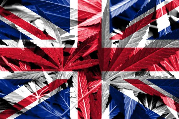 Reino unido con la marihuana medicinal