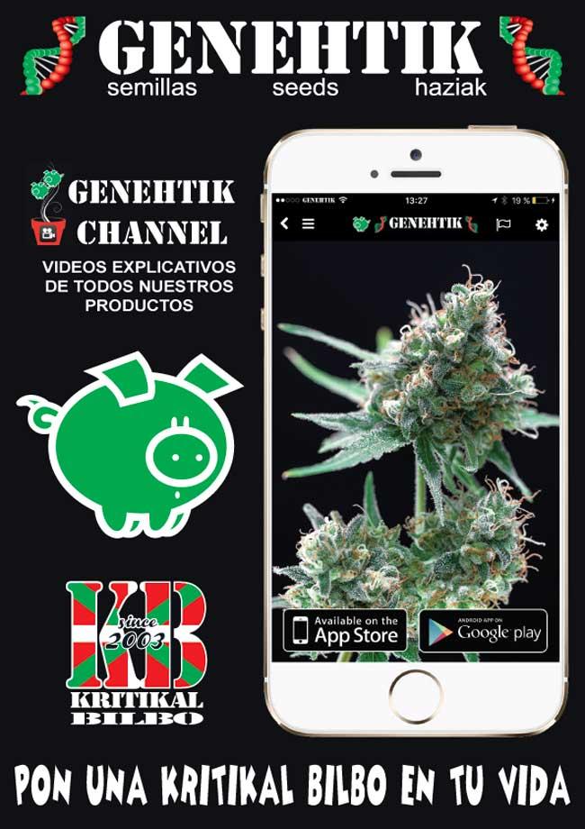 Aplicación Móvil Semillas de Marihuana