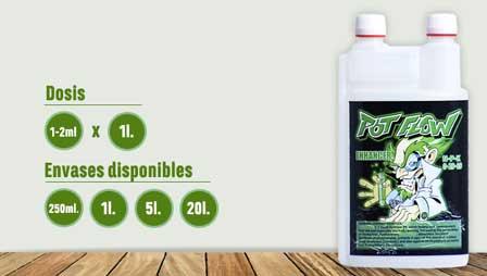 Technology Horticultural Crops fertilizantes PotFlow