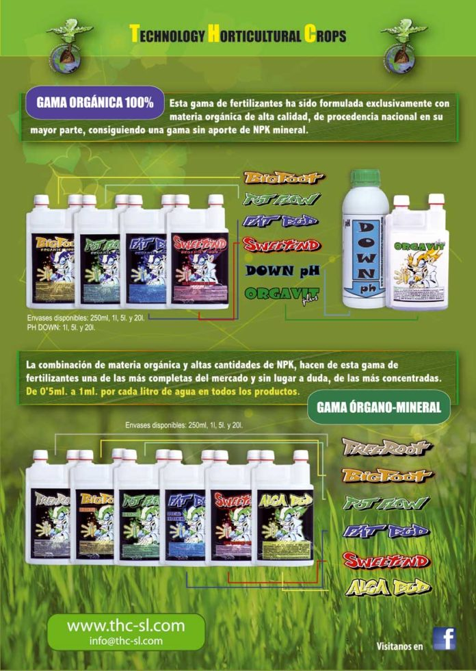 Fertilizantes Technology Horticultural Crops