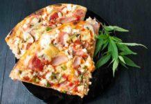 Pizza de Marihuana - Pizza Cannabica de Hongos