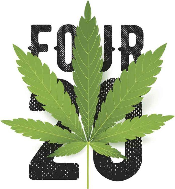 420 símbolo de la marihuana