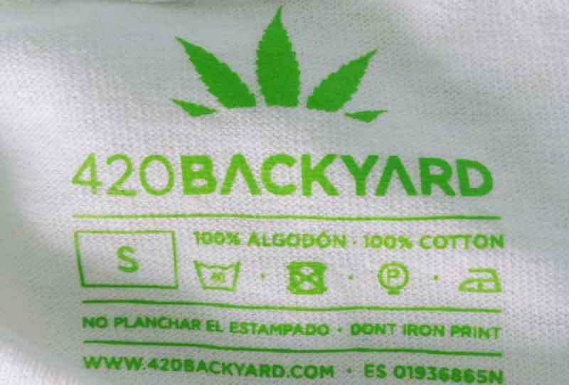 Camiseta de Marihuana 420 backyard