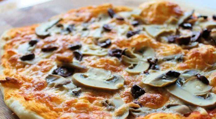 Recetas Cannábicas, Pizza de Marihuana y Champiñónes