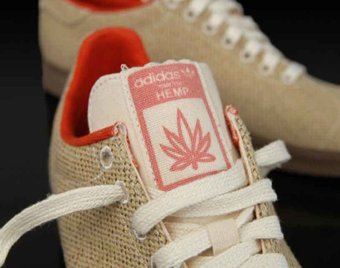 Calzado de Adidas hecho con la Planta de Cáñamo