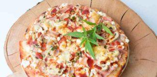 Pizz de Marihuana - Pizza Casera al Toque de Marihuana