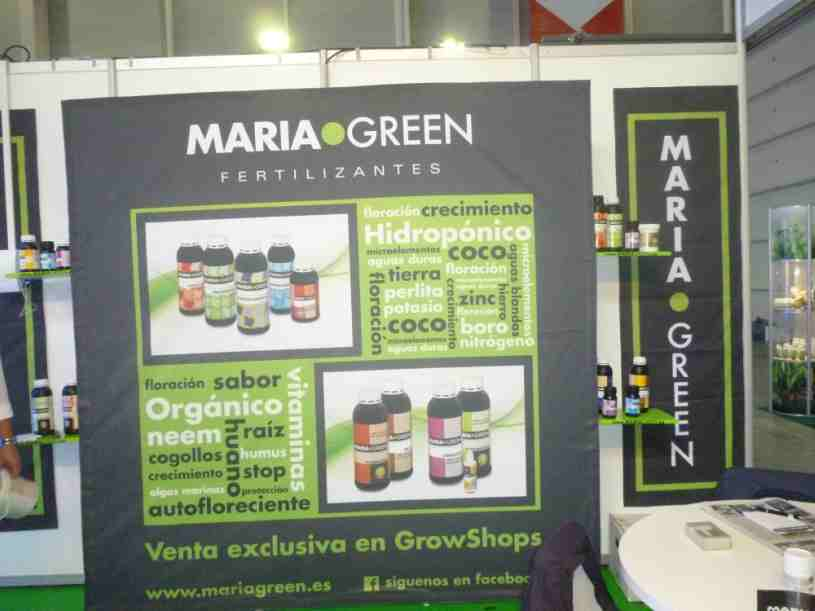 Expogrow Irun Maria Green