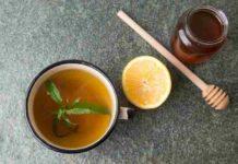Té de Limón con Marihuana - Infusión de Té de limón con Marihuana