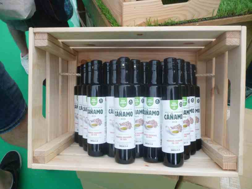 Aceite de Cañamo en Expogrow Irun