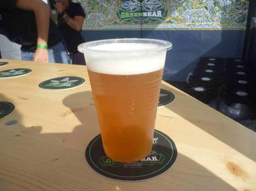 Cerveza GreenBear Expogrow Irun