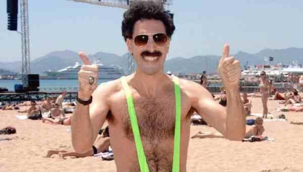Borat, una Película para Verla Bien Fumados