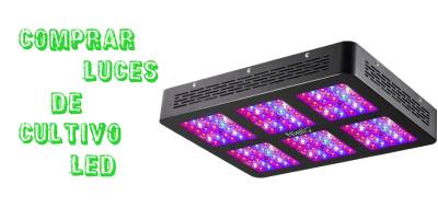 Comprar luces de cultivo led