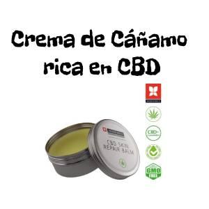 Crema de Marihuana rica en CBD