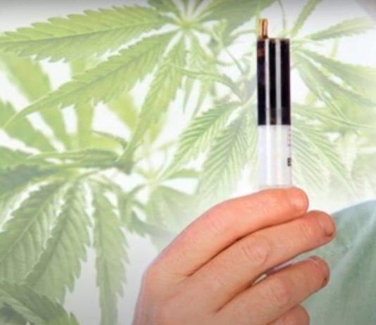 Aceite de marihuana RSO rico en CBD
