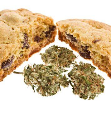 Galletas de Chocolate con Marihuana