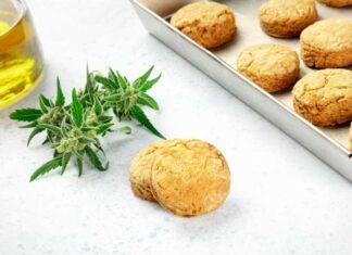 Galletas de Mantequilla con Marihuana