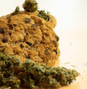 Galletas de Avena con Marihuana